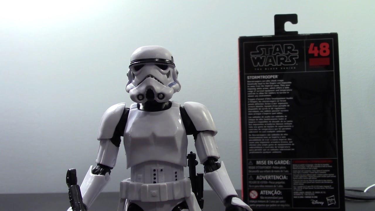 "Star Wars The Black Series Stormtrooper 6/"" Action Figure #48"