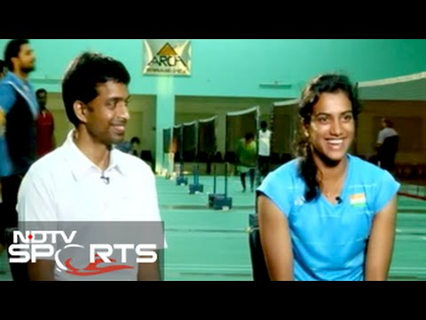 PV Sindhu snubs minister's offer, says Gopichand 'my best coach'