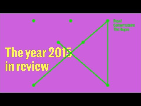 Royal Conservatoire - In the media 2015
