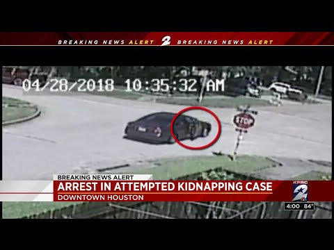 Arrest in attempted kidnapping case