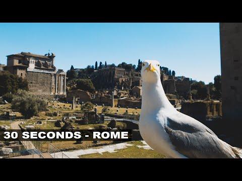 30 SECONDS IN ROME!