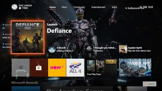 Defiance 2050/xb1/1st time playing