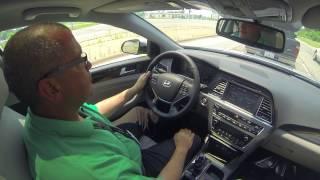2015 Hyundai Sonata Test Drive смотреть