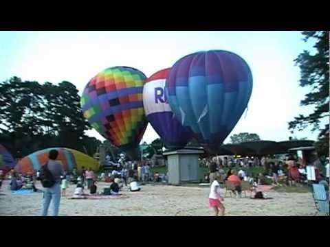 Calloway Gardens Hot Air Balloon Festival - Day 1 - Sept. 4, 2009