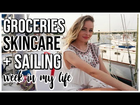 GROCERY HAUL SAILING NEW SKINCARE  Weekly Vlog  Renee Amberg