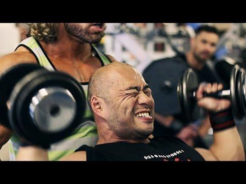 Craig Capurso Trains Si Fantom At Ultimate Fitness Birmingham 2015