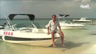 تعد القوارب الوسيلة الأسهل والأقل ثمنا للتنقل بين جزر المالديف
