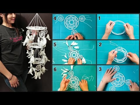 Chandelier Dreamcatcher | DIY