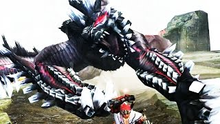 【MHF-G】黒狐竜『ミ・ル』初見討伐【G級UNKNOWN】 フルHD