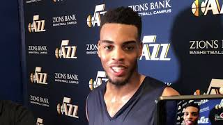 Troy Brown - Utah Jazz pre-draft workout