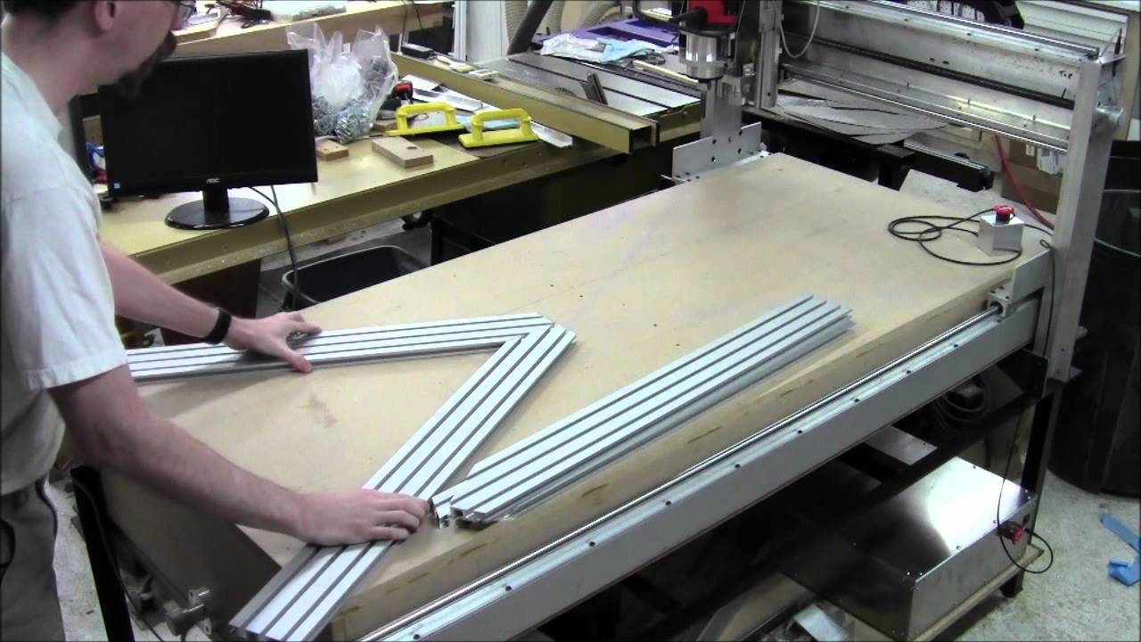 Diy Cnc Router Build Day 41 Cutting Aluminum Youtube
