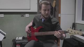 Bass Debut technical exercises
