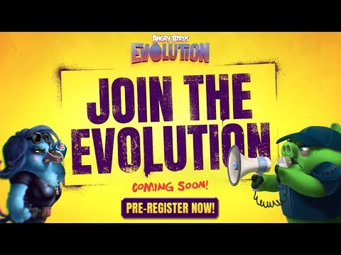 Angry Birds Evolution: Coming Jun 2017 - Pre-register Now!
