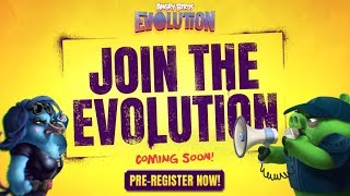Angry Birds Evolution: Coming June 15th 2017 - Pre-register Now!