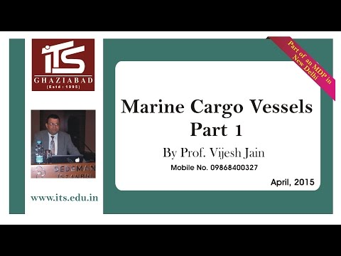 Marine Cargo Vessels - Part 1