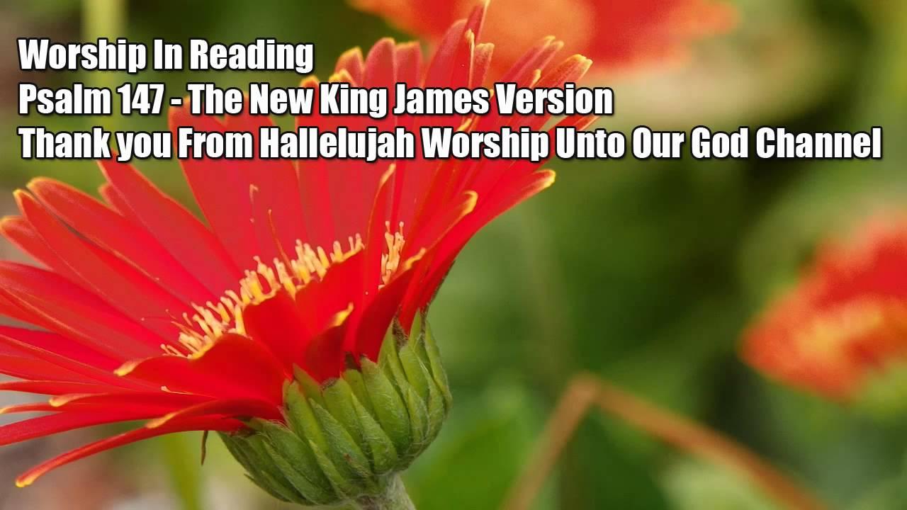 Psalm 147 NKJV Spoken Word - Worship In Reading