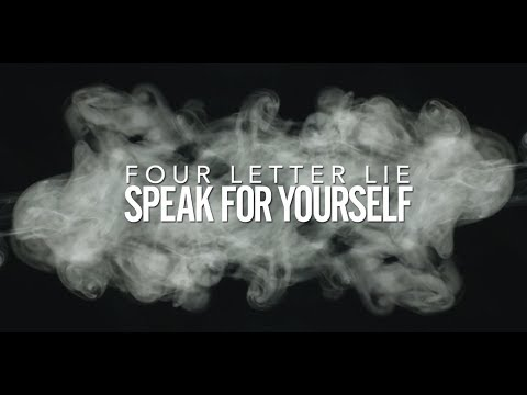 Four Letter Lie - Speak For Yourself (Lyric Video) mp3