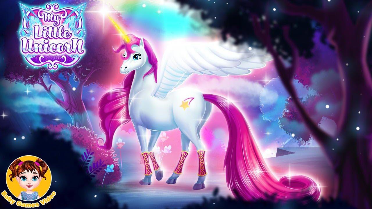 My Little Unicorn Magic Horse – Unicorn Caring Game
