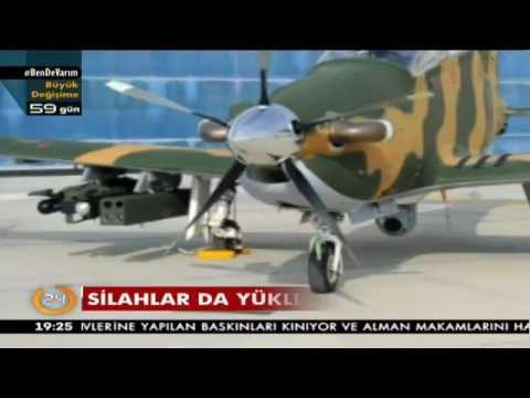 TSK'nın ilk silahlı savaş uçağı, teröristlere korku salacak olan Hürkuş-C'de sona gelindi