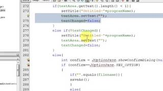 Notepad Application Developed in Java Programming Language