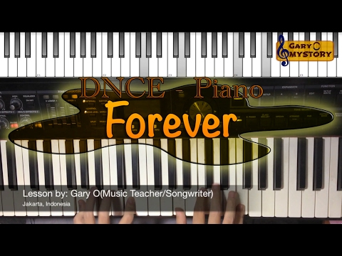 DNCE - Forever The Lego Batman Movie OST Easy Piano Tutorial FREE Sheet Music NEW 2017