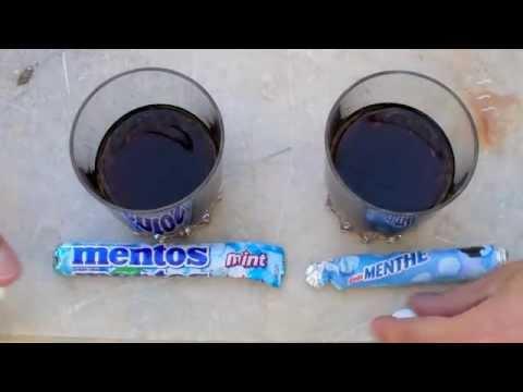 Coca - Mentos: Les coulisses de la réaction