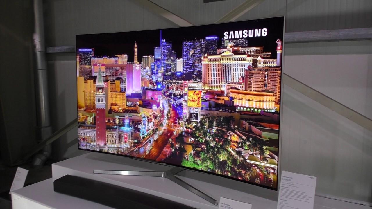 Samsung Premium Uhd Tvs Mu9009 Mu8009 Mu7009 Fur 2017 Youtube