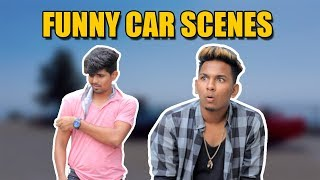 Funny Car Scenes | Hyderabadi Comedy | Warangal Diaries