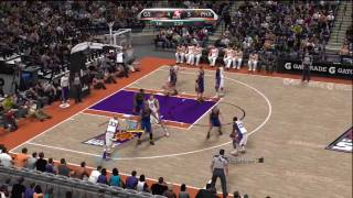 NBA 2K10 (Xbox 360) NBA Today Gameplay: Phoenix Suns vs. Golden State Warriors