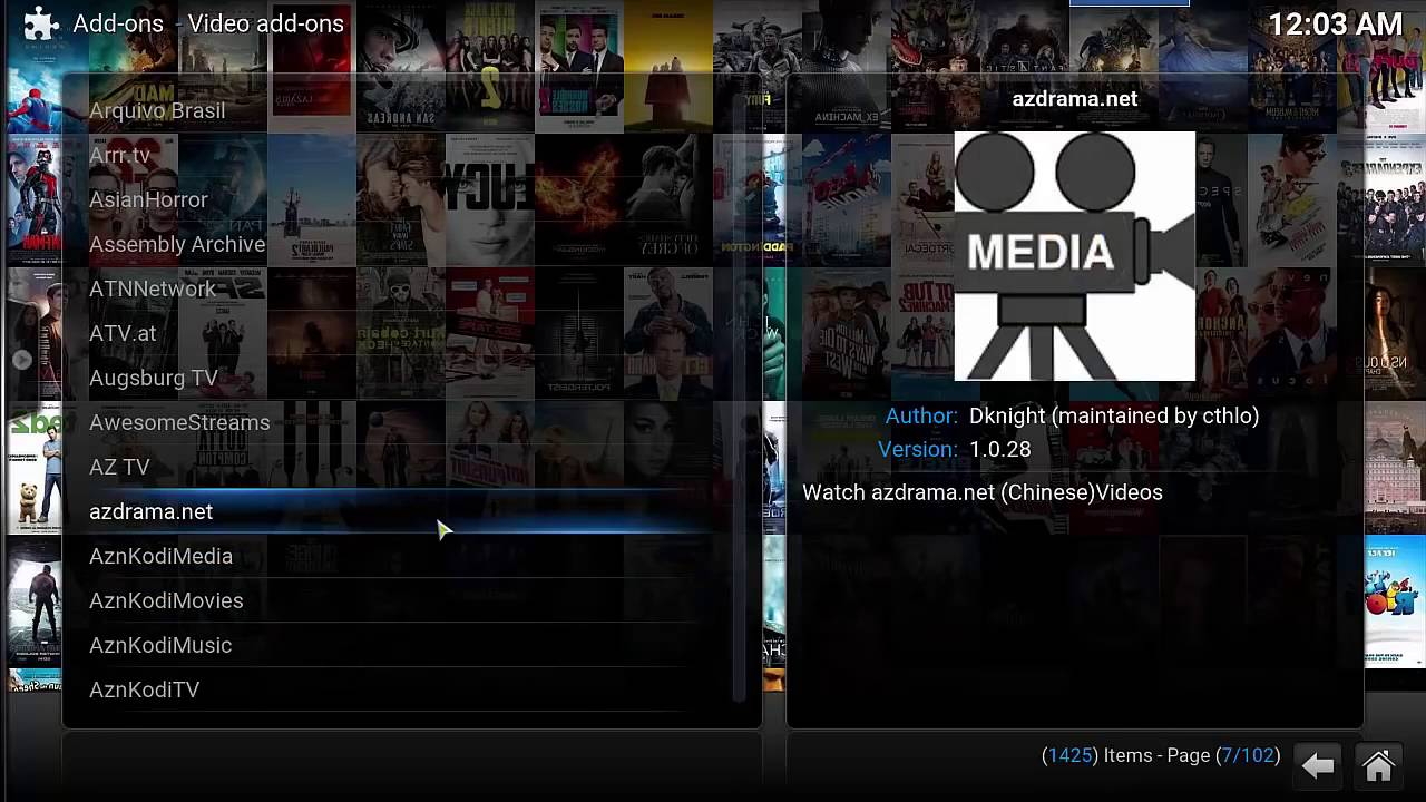 how to add drama to kodi