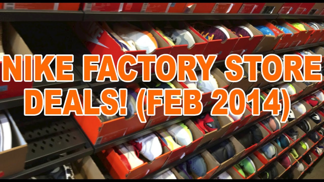 Nike Factory Store Steals & Deals! (Feb 2014)