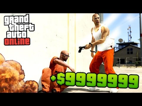 GTA 5 Online - MAKING CRAZY MONEY! 2x MONEY & RP PRISON BREAK Heist MISSION!