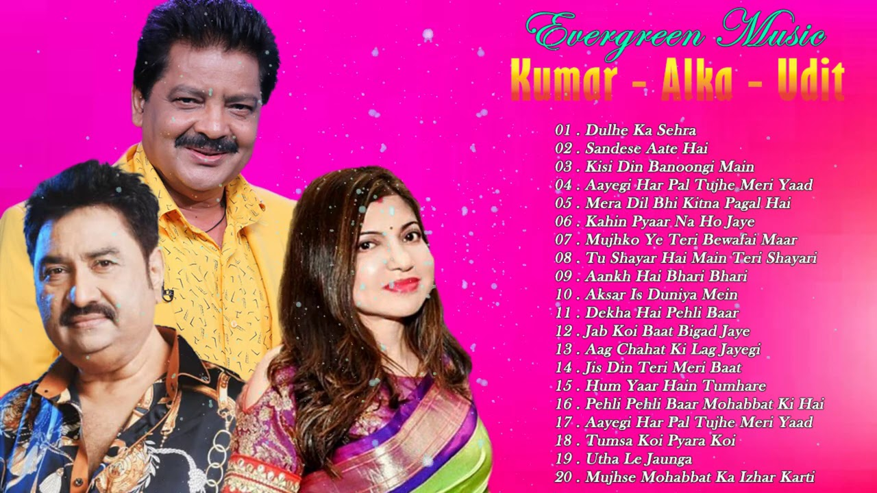 Top 20 Of Alka, Kumar & Udit Hits songs - Bollywood Songs 2020 - Hindi Songs 2021 March