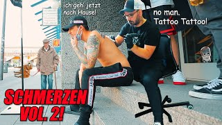 Tag 2: XXL TATTOO Abbruch! Schmerz-Level: IMPOSTOR