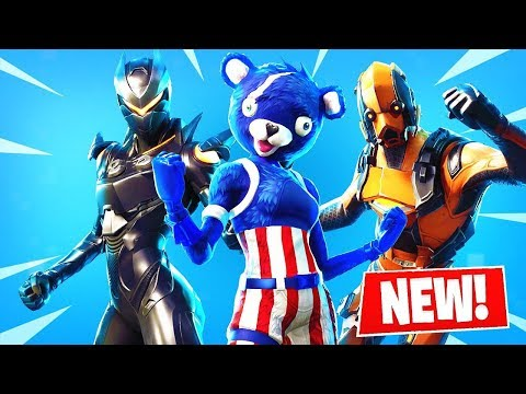 The *NEW* Fortnite SKINS! | Season 4 Story Line Continues! ( Leaks )