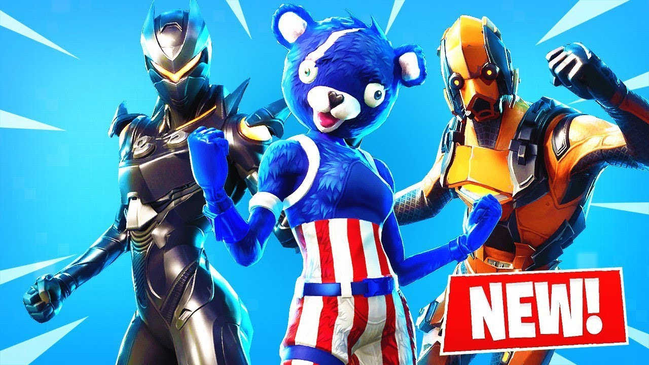 The *NEW* Fortnite SKINS!   Season 4 Story Line Continues! ( Leaks )