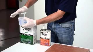 Hawk Epoxy Fiberglass Cloth and Mat Application