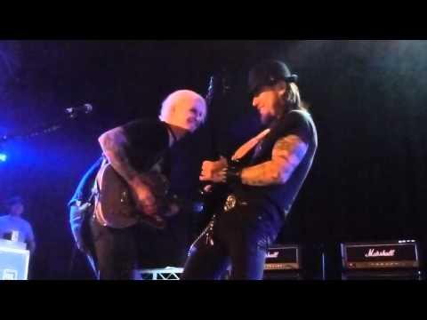 """Corey Taylor,Dave Lombardo,John 5,Dave Navarro """"Crazy Train"""" @ Avalon, Hollywood CA 11-30-11"""