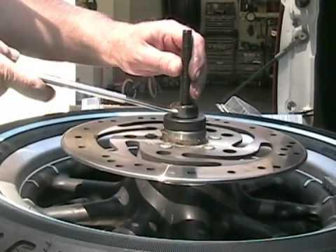 Harley Davidson Wheel Bearing Change and Tire Informationavi - YouTube