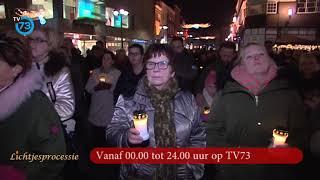 Lichtjesprocessie 2017 op TV aankondiging