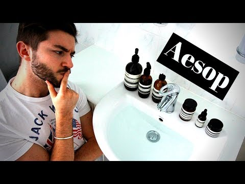 My Aesop Skincare Routine