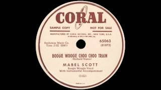 Mabel Scott - Boogie Woogie Choo Choo Train