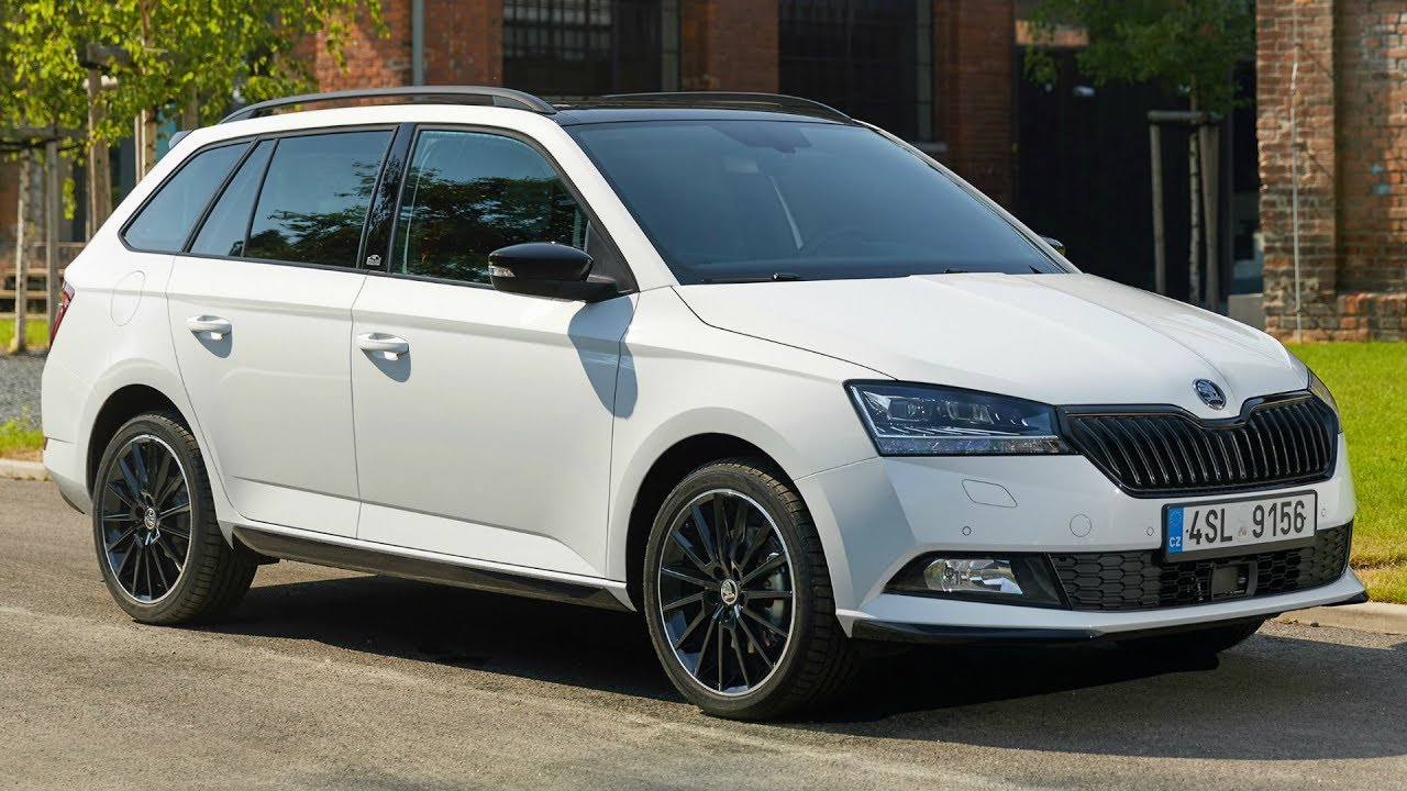 2018 skoda fabia combi monte carlo a generous amount of space thanks to sophisticated design. Black Bedroom Furniture Sets. Home Design Ideas