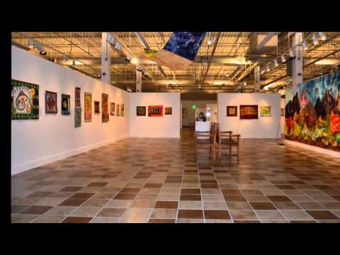 """Fiber arts by the group, """"Not Bound by Tradition,"""" at Utah's Woodbury Art Museum, 2014"""