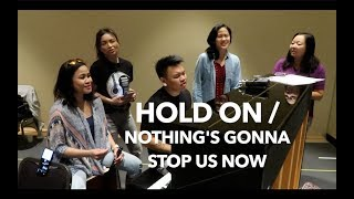 Hold On/Nothing's Gonna Stop Us Now ft. Mama Bares | AJ Rafael
