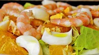 Ensalada de naranjas - Receta sana y fácil