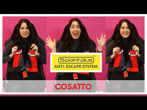 Cosatto Anti-Escape System; Safer Child, Safer You, Safer You - Direct2Mum