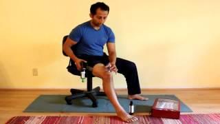 Quadriceps Tendonitis Treatment With Cupping | Manu Kalia | Video 110 | TridoshaWellness