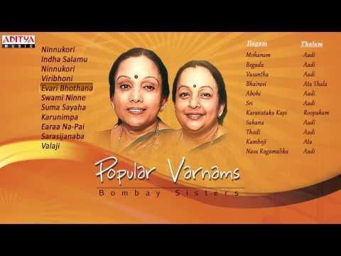 Popular Varnams Bombay Sisters