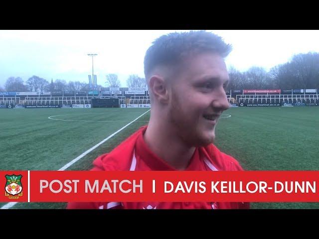 WATCH | Davis Keillor-Dunn after Bromley